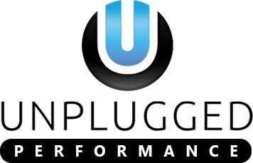 Unplugged Performance Tesla Logo