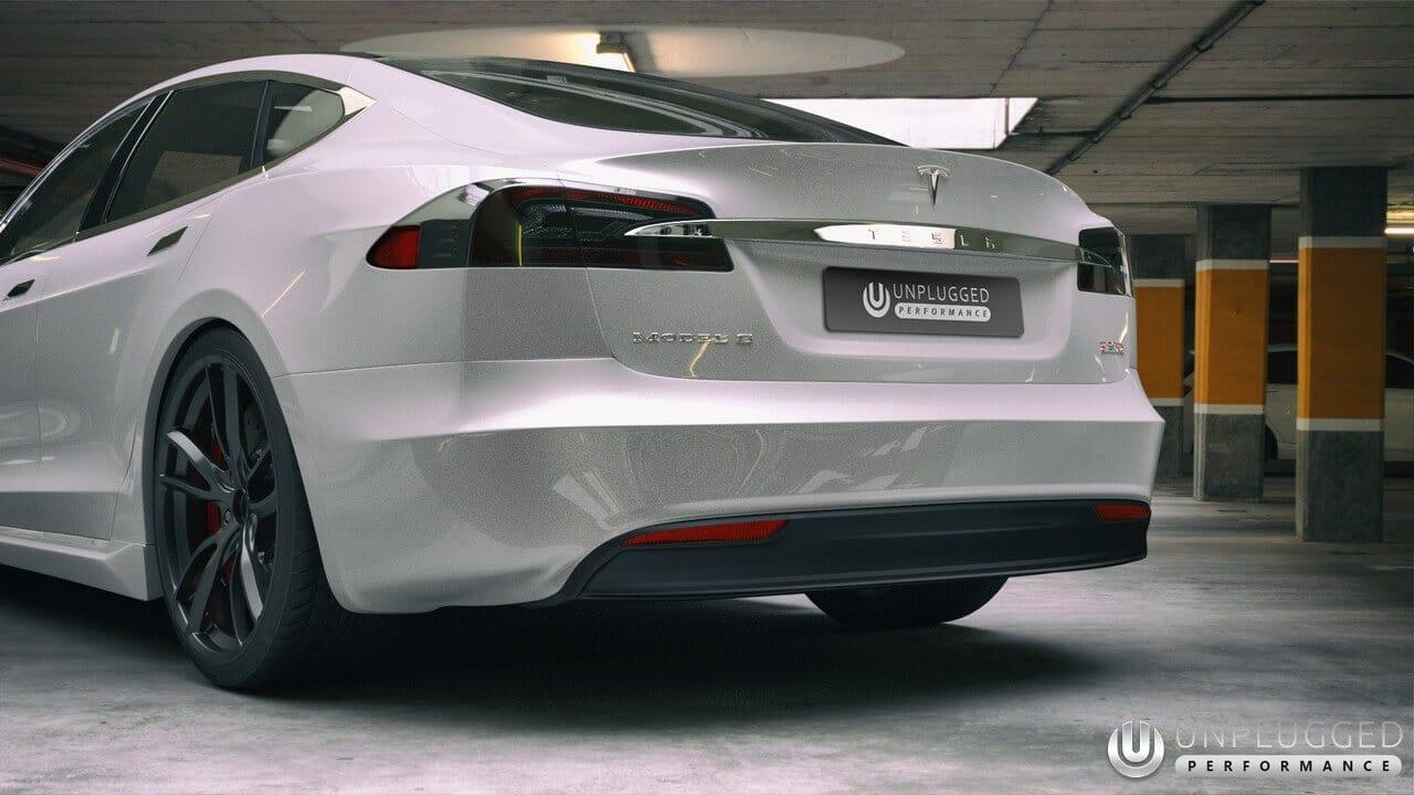 Unplugged Performance Refresh Rear Set For Tesla Model S
