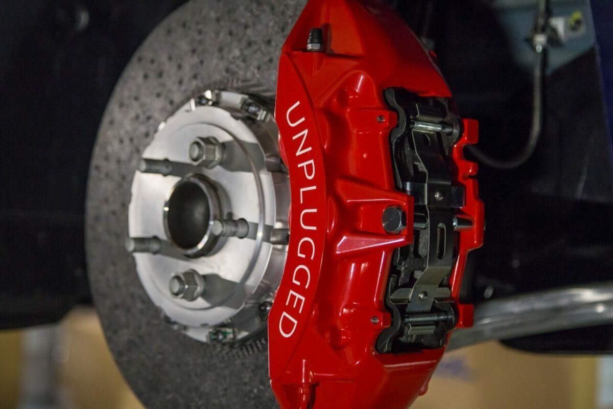 Tesla Model S Custom >> Unplugged Performance Superlight Carbon Ceramic Brake Kit for Model 3