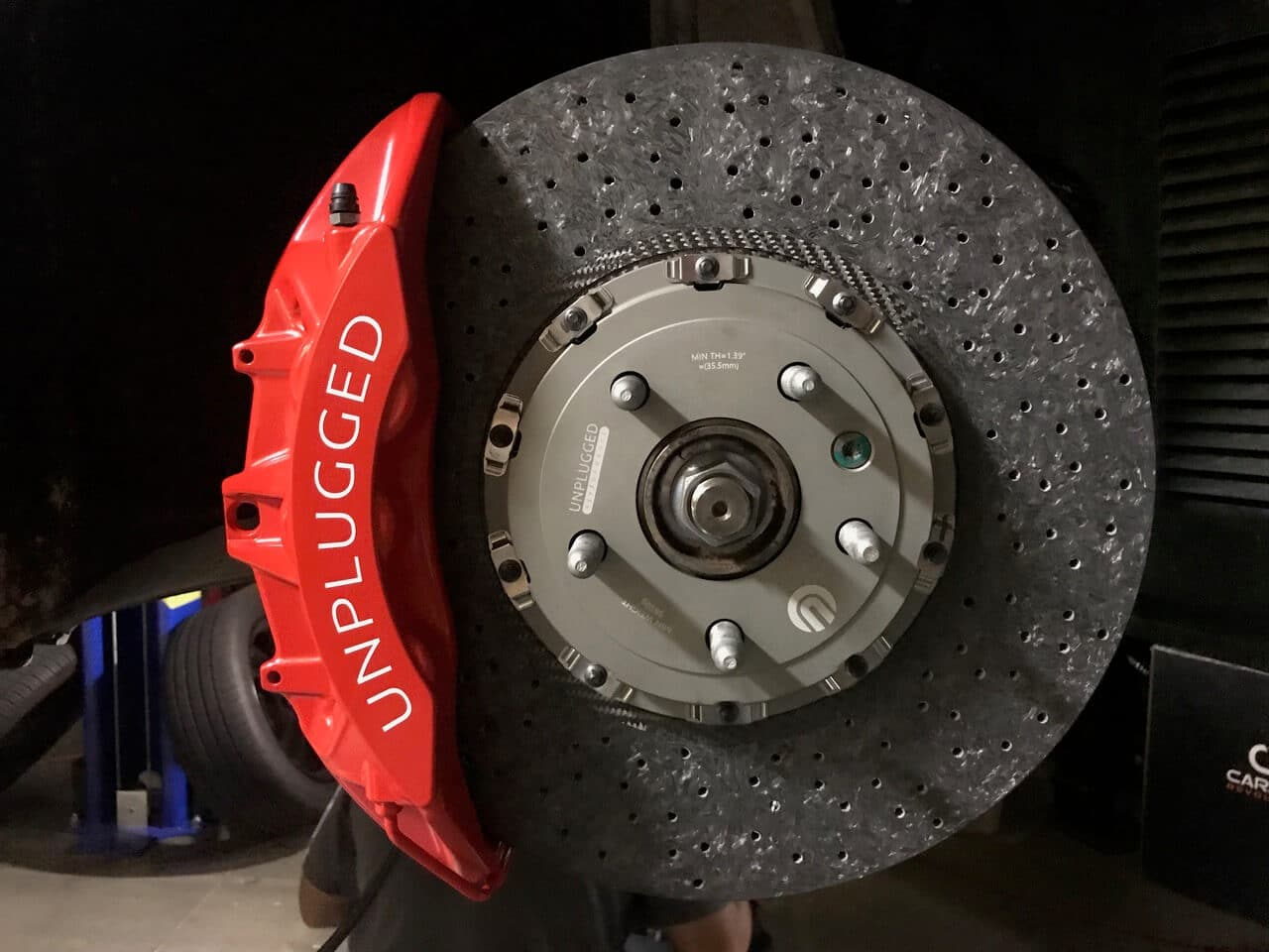 Unplugged Performance Superlight Carbon Ceramic Brake Kit