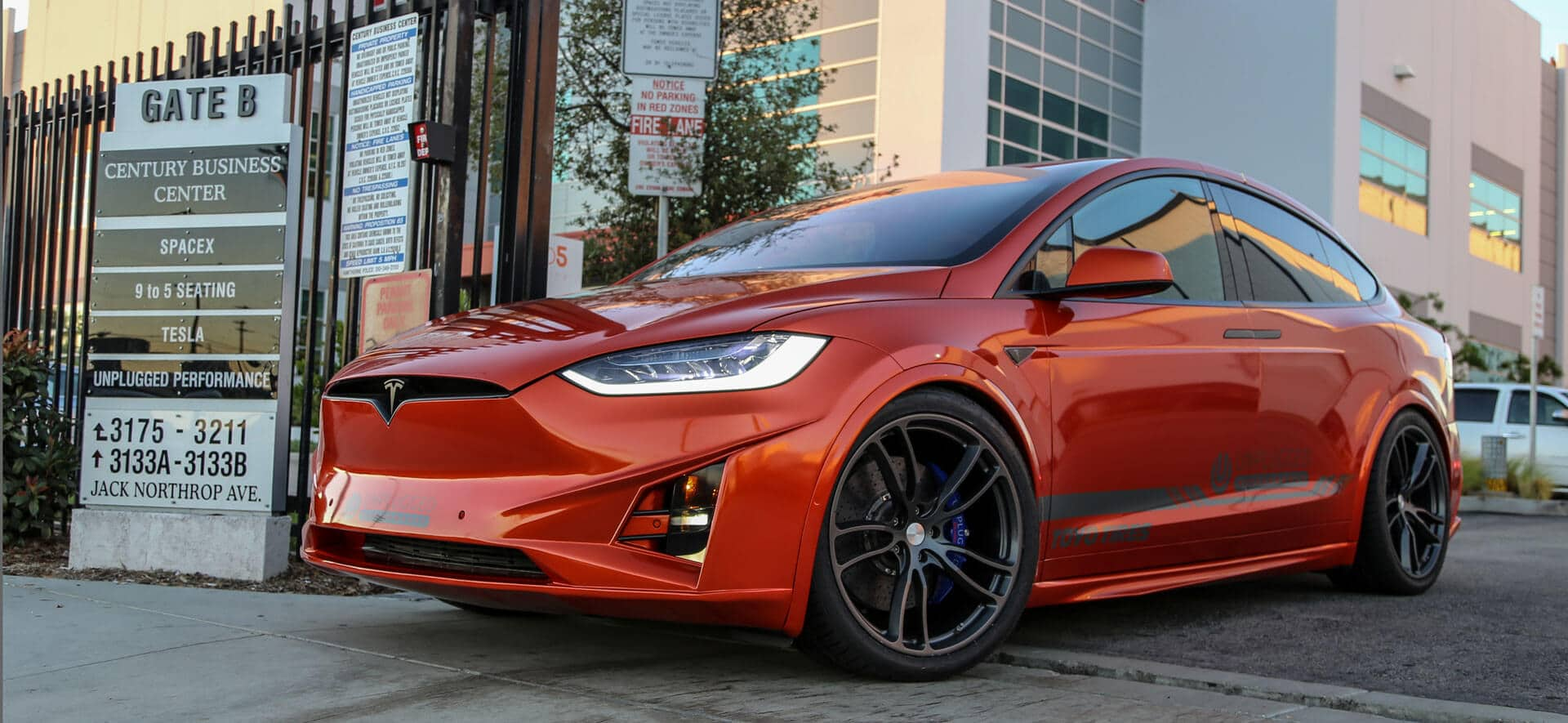 Performance Upgrades for Tesla Model X by Unplugged Performance