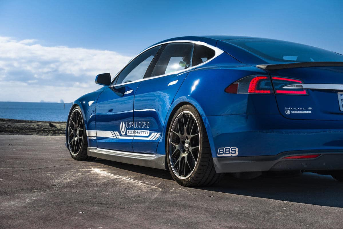 Unplugged Performance Suspension Lowering Kit for Tesla Model S