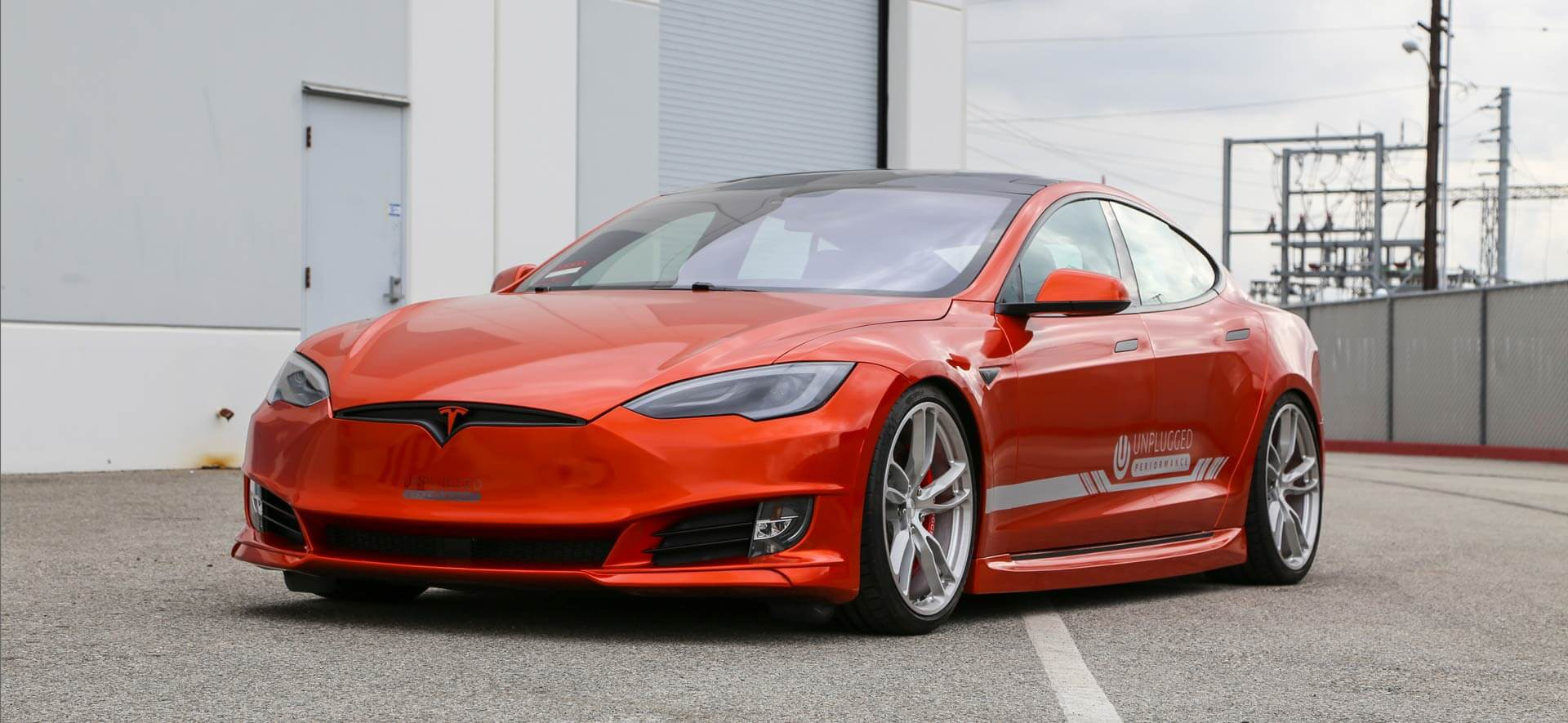 Refresh Front Fascia for Tesla Model S by Unplugged Performance