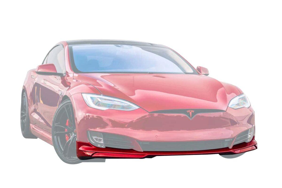 Front Lip Spoiler for 2016 5+ Tesla Model S