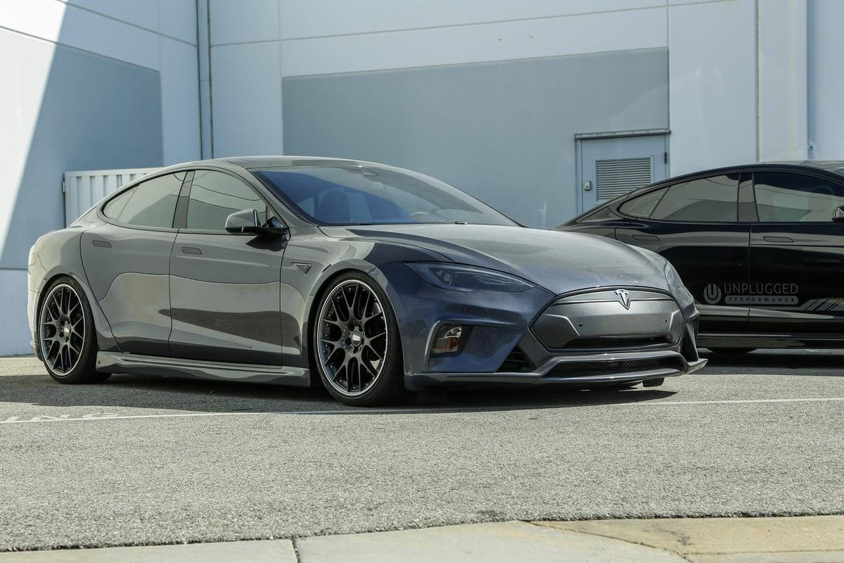 Tesla Model S Custom >> Randy's Midnight Silver Metallic Model S P90D-L ...