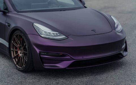 Unplugged Performance Ascension Front Fascia System for Tesla Model 3
