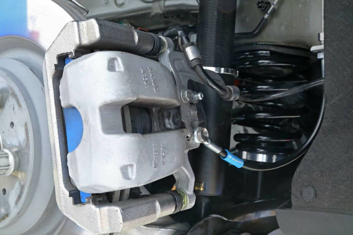 Unplugged Performance Brake Lines Tesla Model 3 REAR