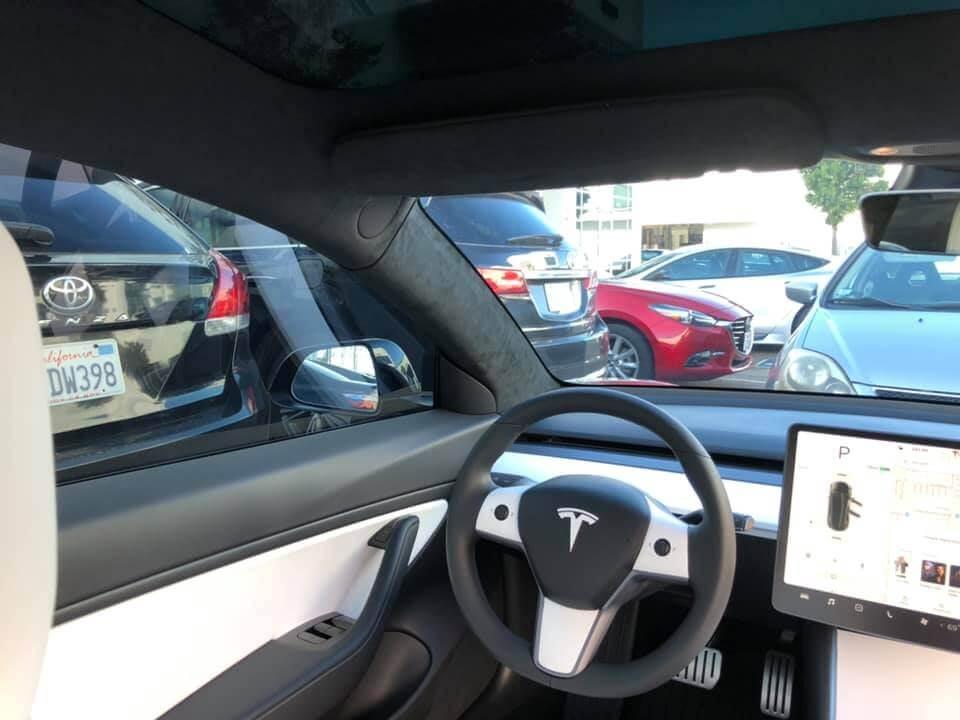 Alcantara Headliner Upgrade Kit for Tesla Model 3