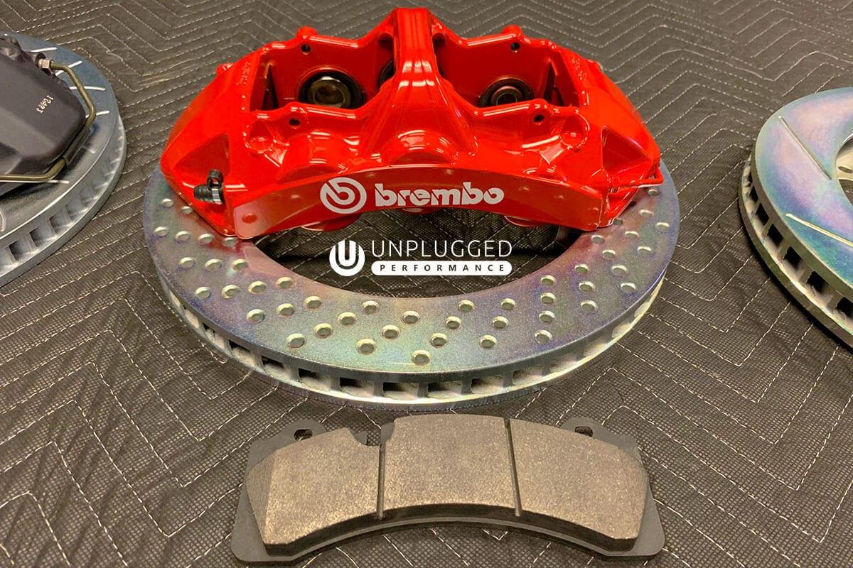 Brembo Brake Kit >> Brembo 6 Piston Monoblock Big Brake Kit For Tesla Model 3