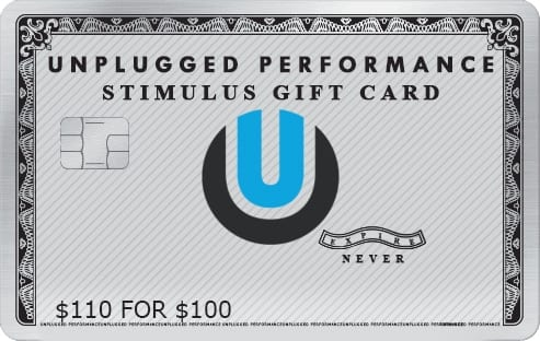 Unplugged Gift Card - Limited Time For Charity