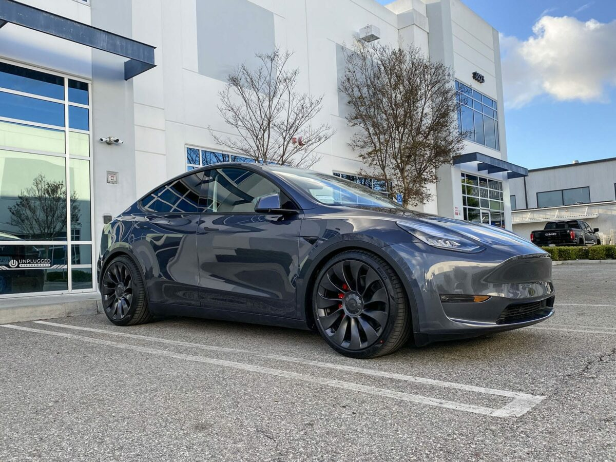 Tesla Model Y Lowering Springs - Unplugged Performance
