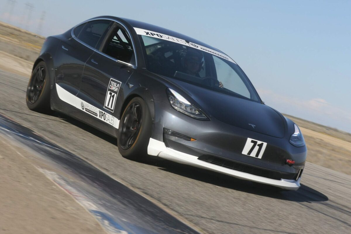 Unplugged Performance Buttonwillow EV World Record Coilover Suspension
