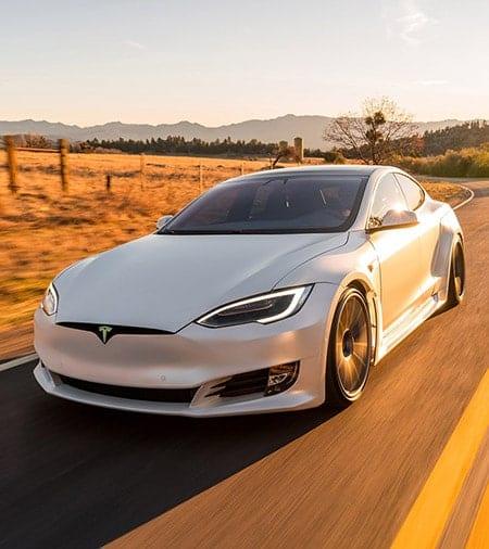 Tesla Model S Complete Aerodynamics Body Kit