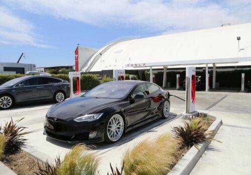 Unplugged Performance Solid Black Tesla Model S P85D