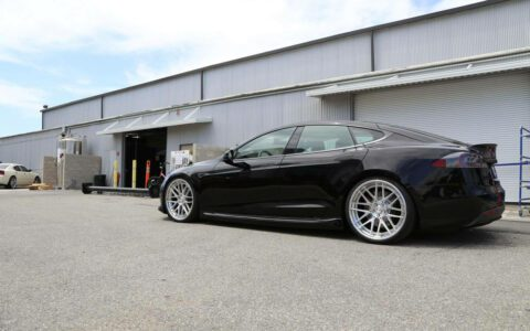 Unplugged Performance Solid Black Tesla Model S P85D