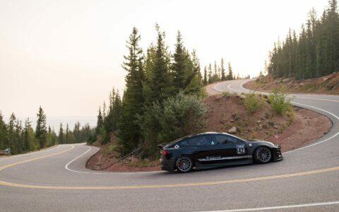 Unplugged Performance Tesla Model 3 Race Car - Pikes Peak