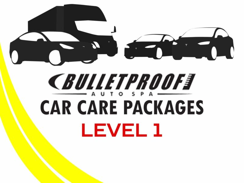 Level 1 Bulletproof Auto Spa Car Care Package