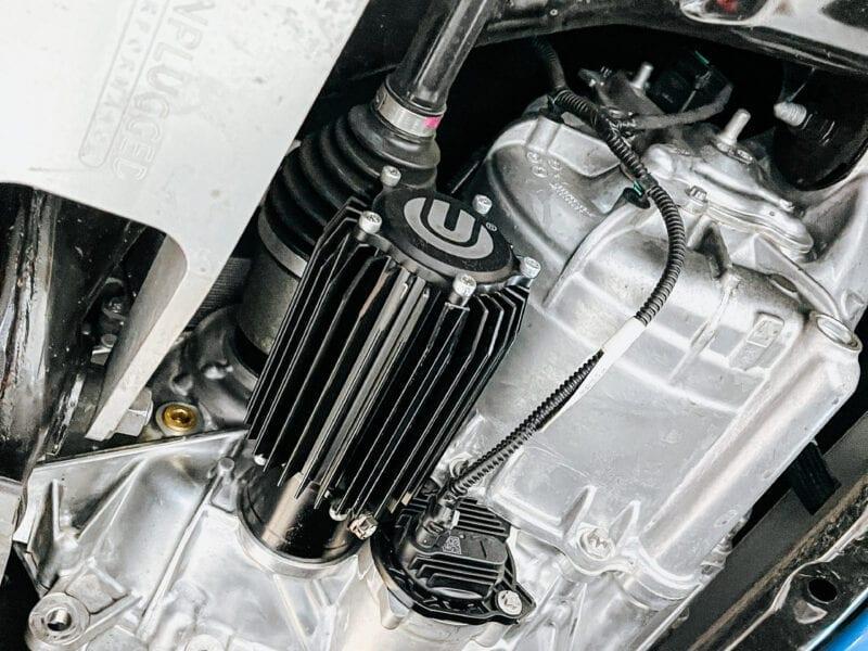 Enduro Drive Unit Oil Cooler And Magnetic Filter for Tesla Model 3 and Tesla Model Y