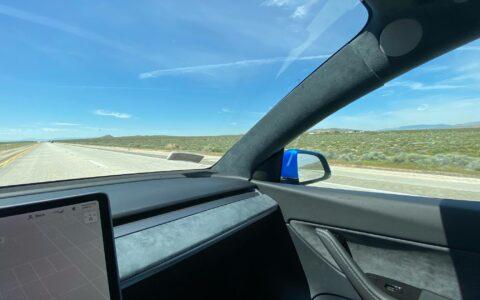 Model 3 Alcantara Headliner