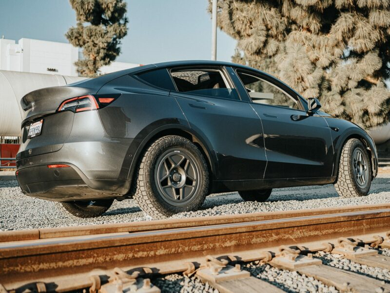 Unplugged Performance Tesla Model Y Dirt and Snow Coil Over Suspension Kit