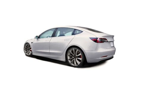 Unplugged Performance Ascension Side Skirt Set for Tesla Model 3 Image