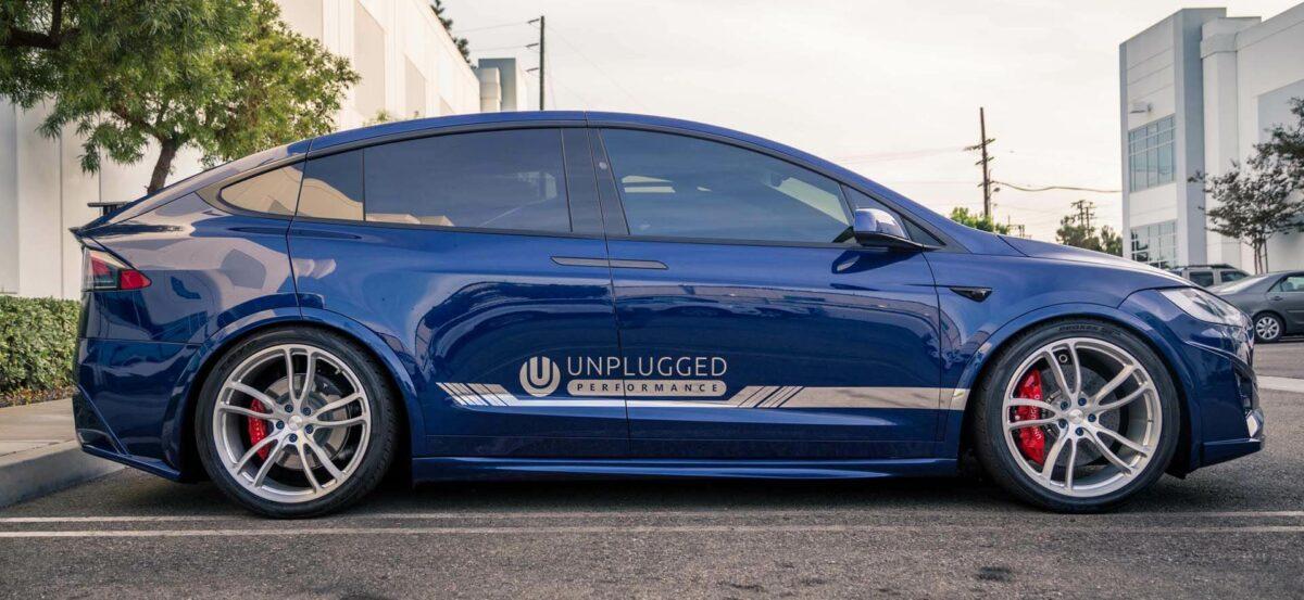 Unplugged Performance Superlight Carbon Ceramic Front Big Brake Kit for Model X