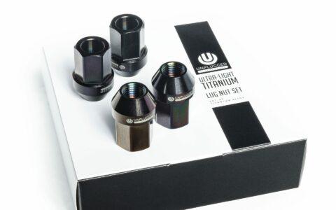 Unplugged Performance Lug Nuts in Black Titanium
