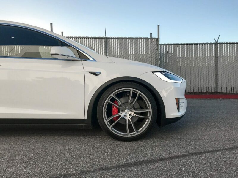 Unplugged Performance Sports Dynamic Air Suspension Upgrade (Lowering) Kit for Model X Image