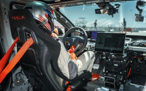 Unplugged Performance Tesla Model 3 Ascension-R Race Car