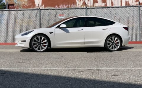 Dual Rate Linear Comfort Spring Set for Tesla Model 3 And Model Y