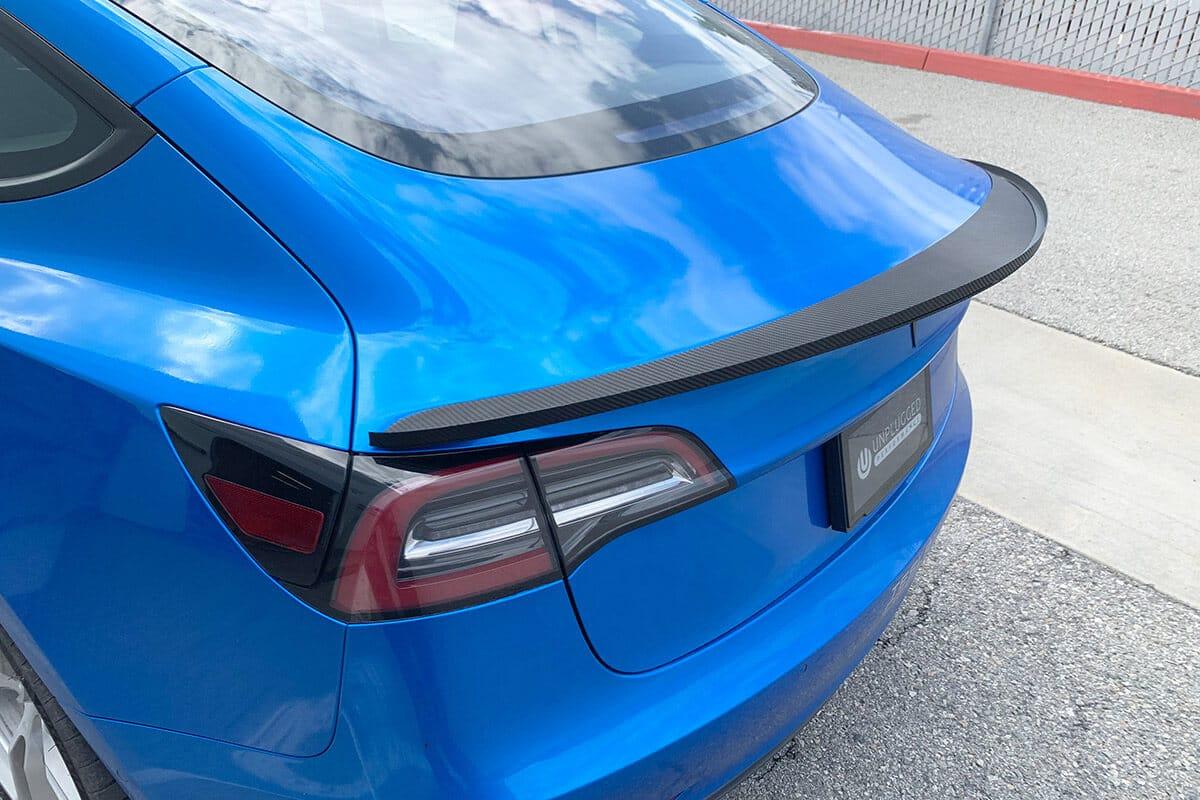 High Downforce Trunk Spoiler For Tesla Model 3 - Unplugged ...