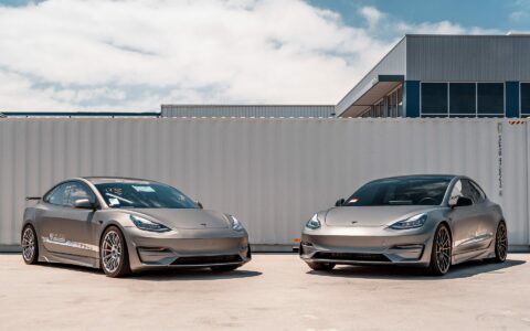 Matching Matte Gray Unplugged Performance Model 3 Ascension