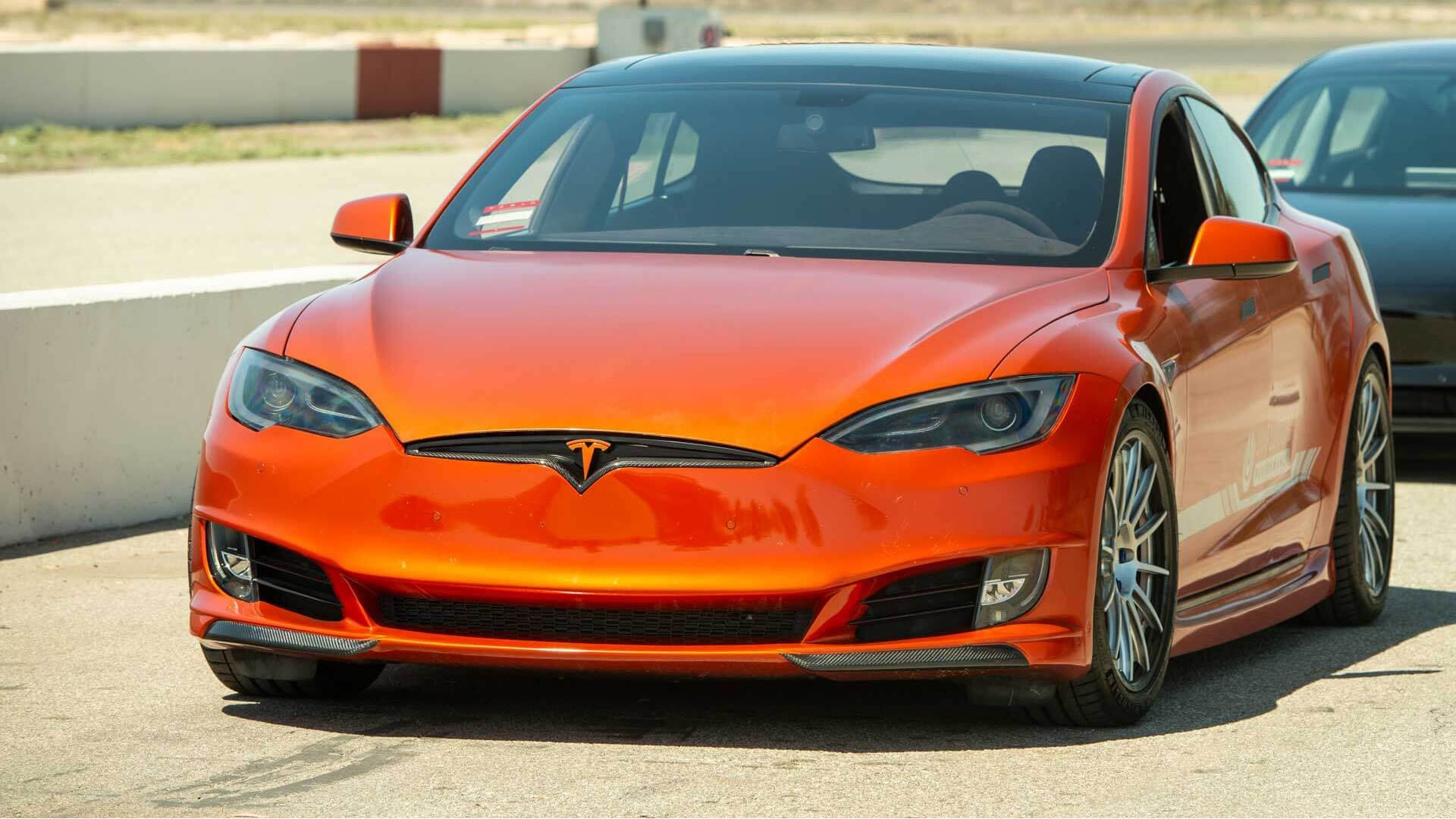 MODEL S REFRESH FRONT FASCIA SYSTEM
