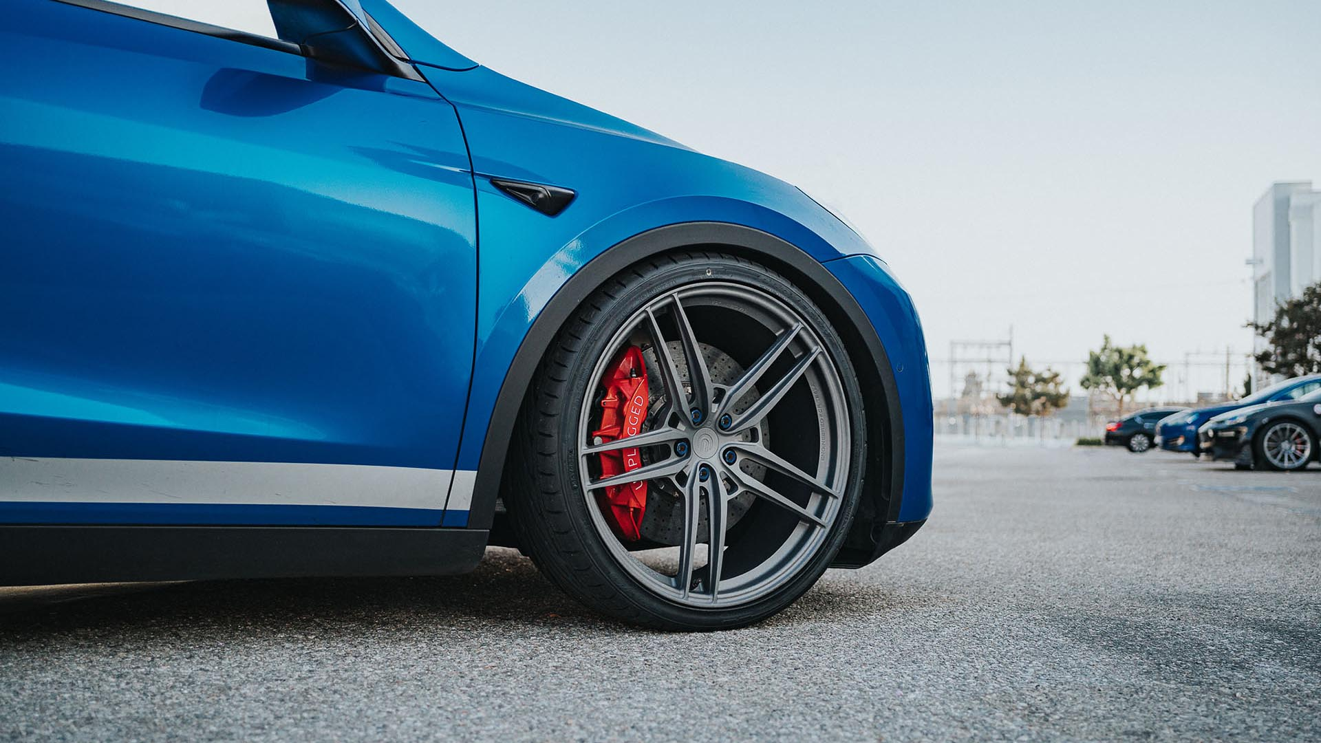 Lightweight Wheels For Tesla Model Y By Unplugged Performance