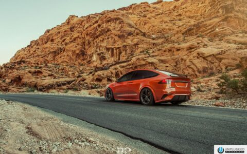 Vivid Orange Unplugged Performance Model X